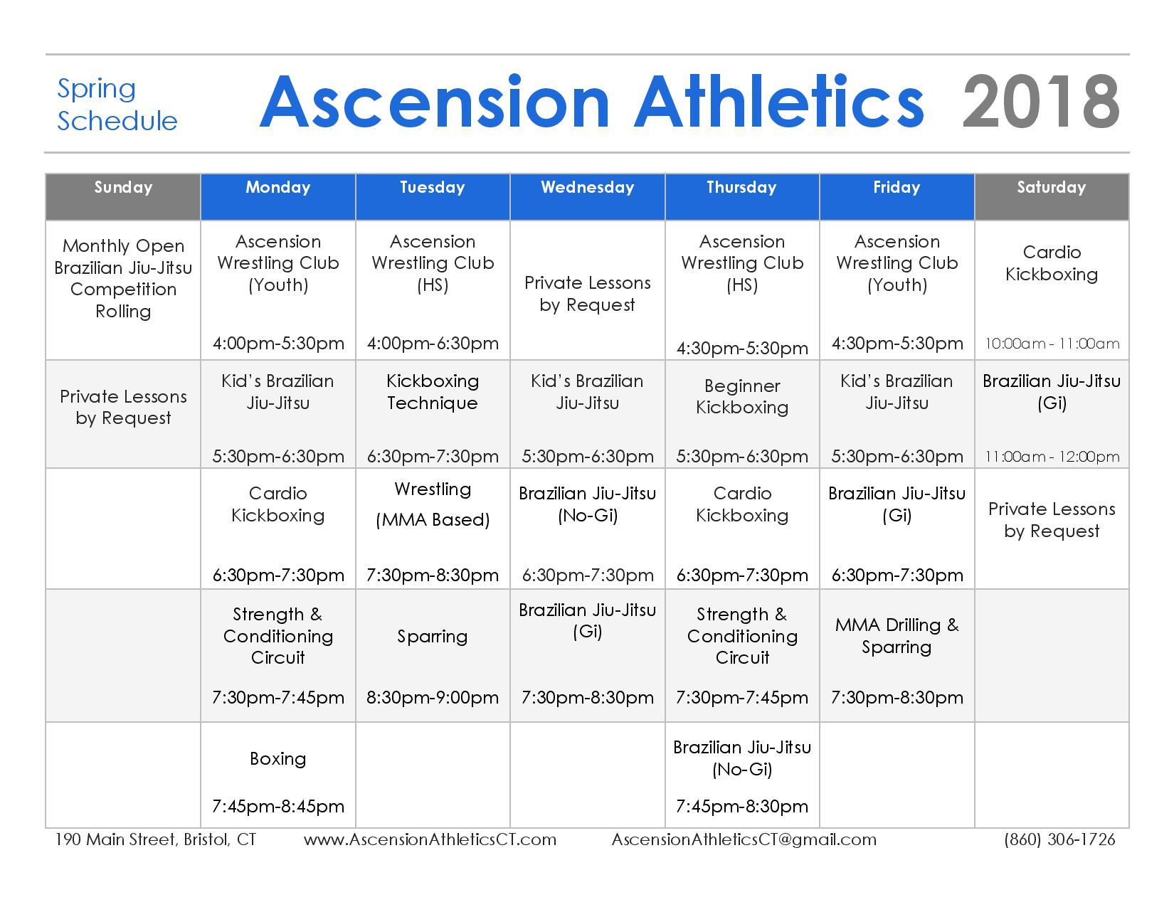 Ascension Schedule - Spring Schedule-page-001